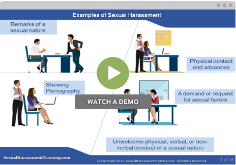 Sexual harassment examples at work